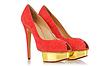 ID 3515078 | 빨강 세련된 여성 신발 | 높은 해상도 사진 | CLIPARTO