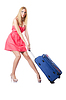 Atrakcyjny kobieta gotowa na wakacjach | Stock Foto