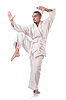 ID 3599619 | Fighter sztuk walki karate | Foto stockowe wysokiej rozdzielczości | KLIPARTO