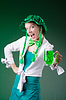 ID 3664469 | Junges Mädchen im St.-Patrick-Day-Feier-Konzept | Foto mit hoher Auflösung | CLIPARTO