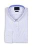 Schöne männliche Hemd auf weißem | Stock Foto
