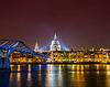 ID 3675989 | Saint Paul Catherdral in der Nacht in London | Foto mit hoher Auflösung | CLIPARTO