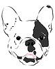Maulkorb Bulldogs | Stock Vektrografik