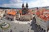 Prag. Stadtpanorama | Stock Foto