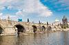 Karlsbrücke in Prag | Stock Foto