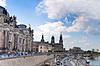 Panorama von Dresden, Deutschland | Stock Foto