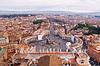 Panorama von Vatikan und Rom | Stock Foto