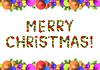 ID 3394637 | Weihnachtskarte mit Weihnachten ornamen | Foto mit hoher Auflösung | CLIPARTO