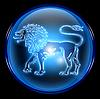 ID 3699057 | 狮子星座按钮图标, | 高分辨率插图 | CLIPARTO