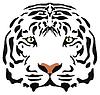 Vektor, Tigerkopf