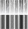 ID 3493295 | Tire prints | Klipart wektorowy | KLIPARTO