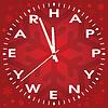 neue Jahr Uhr