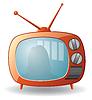 Telewizor | Stock Vector Graphics