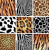 Tierhaut Texturen