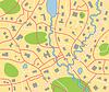 Vektor-Stadtplan