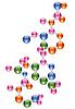 abstrakte Molekül