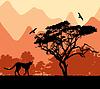 ID 3473590 | Dzikie afrykańskie zwierzęta | Klipart wektorowy | KLIPARTO