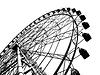 纲要大型摩天轮 | 免版税照片