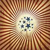 Amerikanischen patriotischen Retro-Hintergrund.