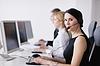 ID 3399016 | Grupa ludzi biznesu pracy w biurze obsługi klienta | Foto stockowe wysokiej rozdzielczości | KLIPARTO