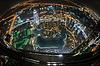 Панорама центра города Дубай ночью | Фото