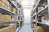 医疗用品厂储存室内 | 免版税照片