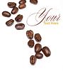 Kaffeebohnen-Muster | Stock Foto