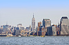 Manhattan. Skyline von New York | Stock Foto