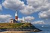 Leuchtturm am Montauk Point. Long Island. New York | Stock Foto
