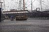 Manhattan. Regen im Hafen | Stock Foto
