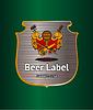 Bier-Etikett | Stock Vektrografik