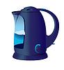 Blau Wasserkocher