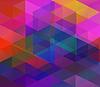 Hintergrund mit bunten Dreiecken | Stock Vektrografik