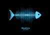 Sonar Wellenform Fische