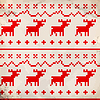 Traditionelles Ornament mit Hirschen | Stock Vektrografik