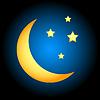 Mondsymbol | Stock Vektrografik