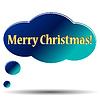 Frohe Weihnachten Symbol