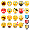 Großes Set von Smileys | Stock Vektrografik