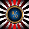 Prozent-Icon | Stock Vektrografik