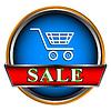 Button Verkauf | Stock Vektrografik