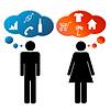 Denken Männer und Frauen