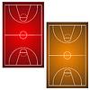 Zwei Basketball-Felder