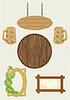 Holz Fächer