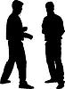 ID 3453569 | Силуэты спортсменов | Иллюстрация большого размера | CLIPARTO