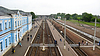 Blick auf Bahnhof | Stock Foto