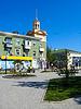 Straßen der Stadt Berdyansk | Stock Foto