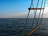 Blick auf Meer Schiff | Stock Foto