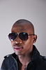 Young African man in sunglasses | Stock Foto