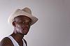 Macho schönen afrikanischen Mann | Stock Foto