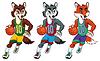 ID 3477009 | Maskotki Koszykówka | Stockowa ilustracja wysokiej rozdzielczości | KLIPARTO